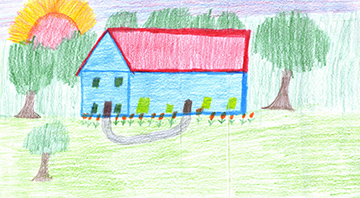 Adams electric cooperative draw your dream house for Draw your dream house